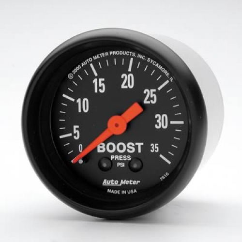 Auto Meter Z Series Boost ( 0-35psi )