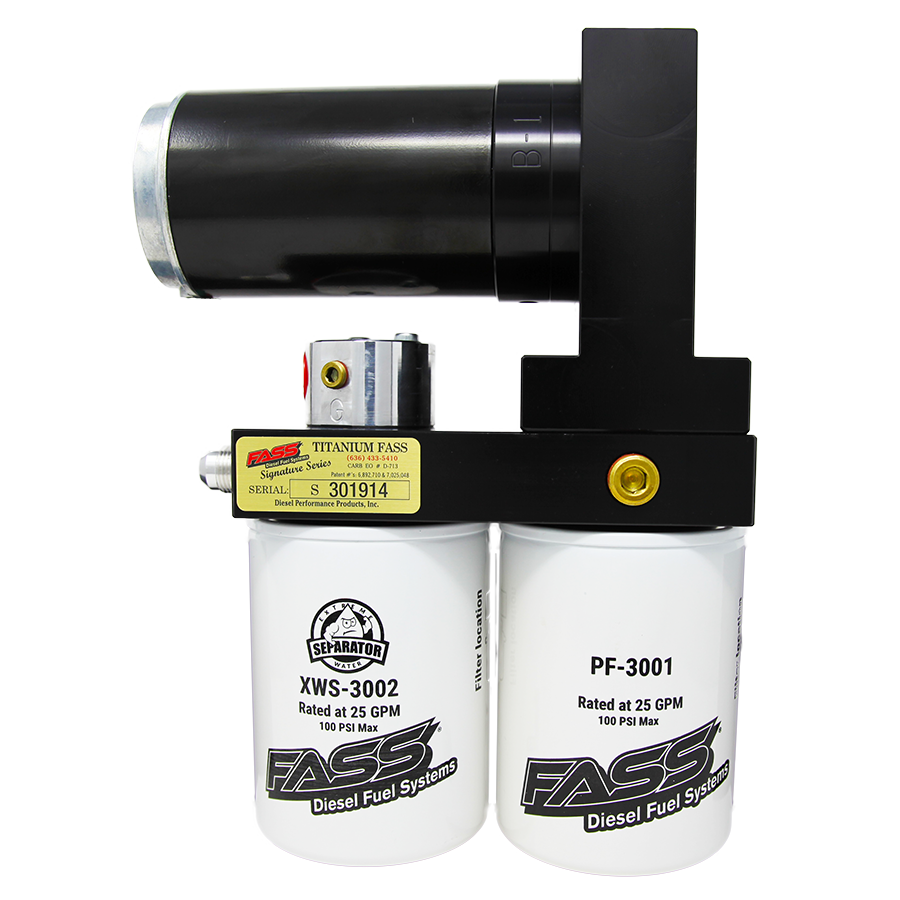 FASS Titanium Signature Series Diesel Fuel Lift Pump 95GPH